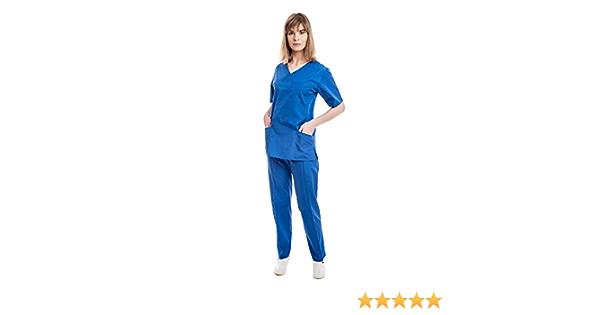 Uniformes Sanitario Pijama Mujer - 7 Tamaños A Medida Xs-3xl ...