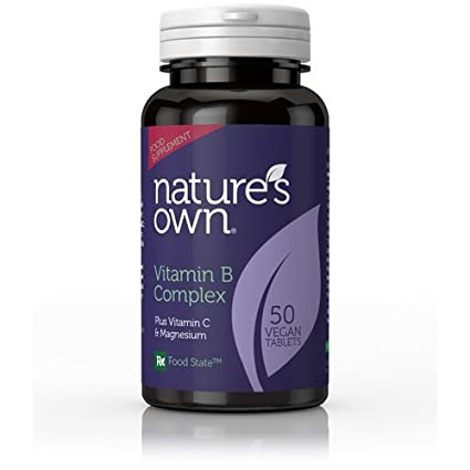 Natures Own B Vitamins Vitamin B Complex + Vitamin C (Euro Formula), 50