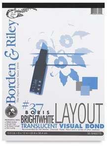 Borden & Riley Boris Layout Paper for Markers, 14