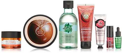 Set Gift Drop - The Body Shop 40 Years of The Body Shop's Best Iconic Collection Gift Set