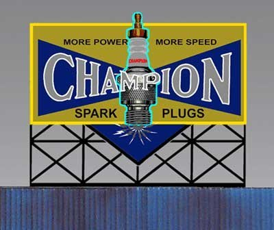 5071 Large Model Champion Spark Plug Animated Lighted for sale  Delivered anywhere in USA
