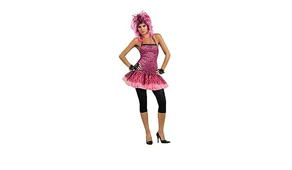 f37926b3f16 Amazon.com  Forum Novelties Women s 80 s To The Maxx Neon Funk Costume Dress