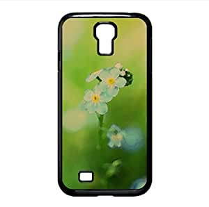 Forget-me-not Watercolor style Cover Samsung Galaxy S4 I9500 Case (Flowers Watercolor style Cover Samsung Galaxy S4 I9500 Case)