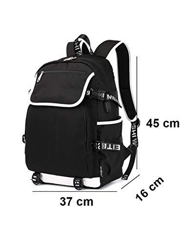 Zaino College Moda Casual Backpack Da Zainetto Bts Blue04 Unisex Borsa Scuola qzBdtBw