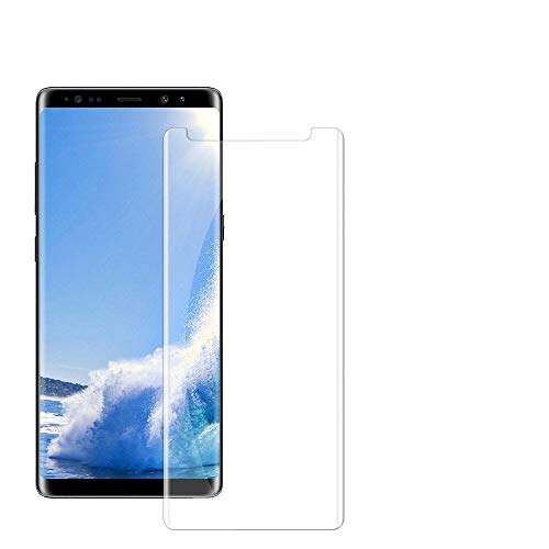Note 9 Tempered Glass Screen Protector,[HD Clear][Anti-Bubble][9H Hardness][Anti-Scratch][Anti-Fingerprint] Screen Protector Compatible with Note 9