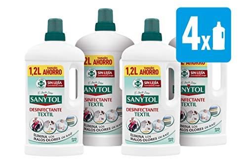 🥇 Sanytol – Desinfectante Textil – 4 unidades de 1200ml