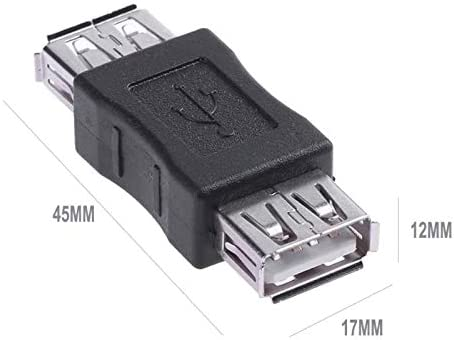 USB Standard Type A Female to Female Adapter Coupler lot wholesale