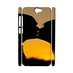 HTC one A9 Exquisite Special 3d Protective Case Sunset Silhouette Print Phone Case for HTC one A9