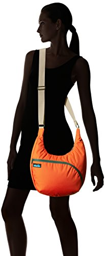 Kavu Damen Singapur, Schultertasche, damen, Orange