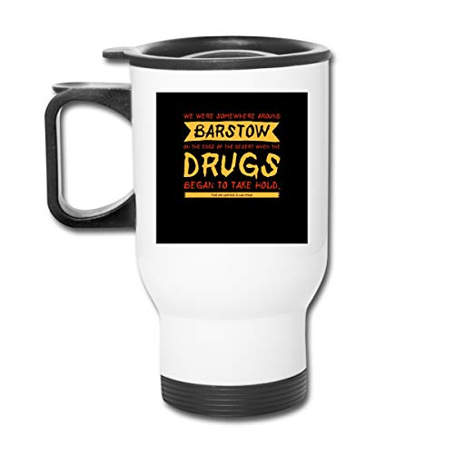 Fear And Loathing In Las Vegas Movie Opening Line 16 Oz Stainless Tumbler Double Wall Vacuum Coffee Mug With Splash Proof Lid For Hot & Cold Drinks
