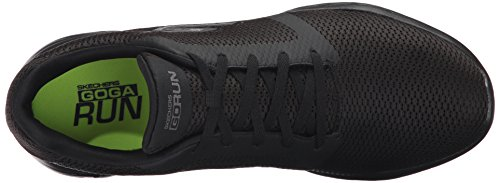 600 Nero Scarpe Go Refine Skechers Run Indoor Sportive Uomo v76qOEwExF