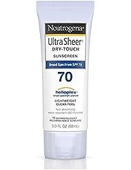 Neutrogena Ultra Sheer Dry-Touch Sunscreen SPF 70 3 oz