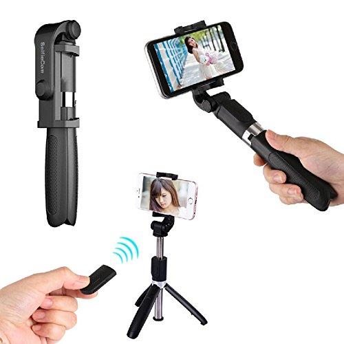 sale retailer 304a1 85347 delicate SelfieCom Bluetooth Selfie Stick Tripod Extendable Selfie ...