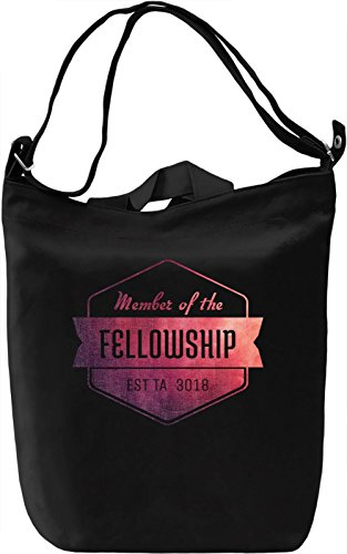 Fellowship Borsa Giornaliera Canvas Canvas Day Bag| 100% Premium Cotton Canvas| DTG Printing|