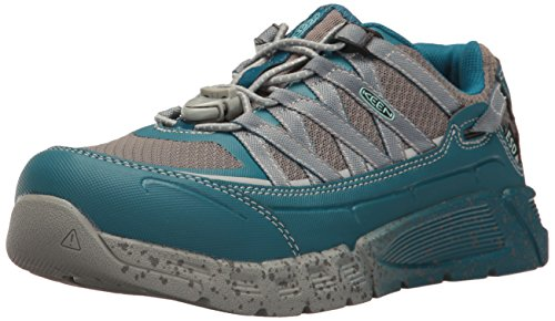 Keen Utility Women's Asheville AT ESD Industrial and Construction Shoe, Ink Blue/Eggshell Blue, 11 M US by KEEN Utility