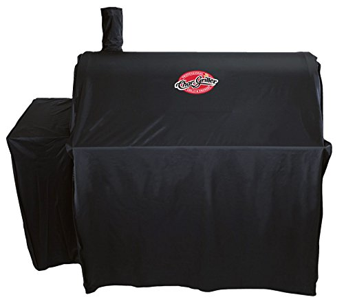 Char-Griller 3737 Outlaw Grill Cover, Black