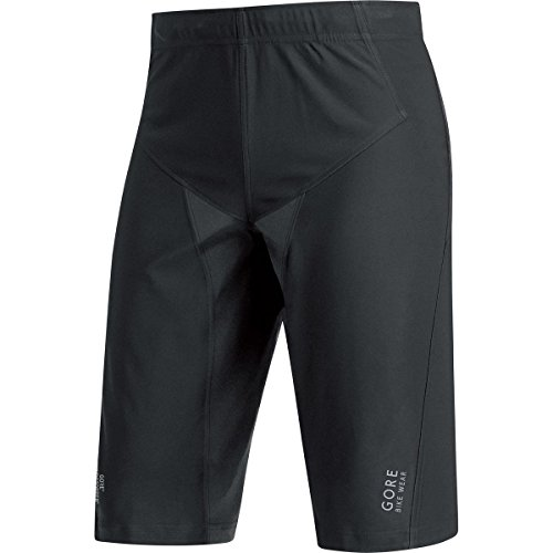 Uomo 2017 Nero C5 Windstopper Shorts Antivento Wear Mtb Pantaloncini Trail 100011 Gore fq6AawWgR