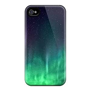 For Case HTC One M8 Cover Cases, Premium Protective Cases With Look - Space Aurora