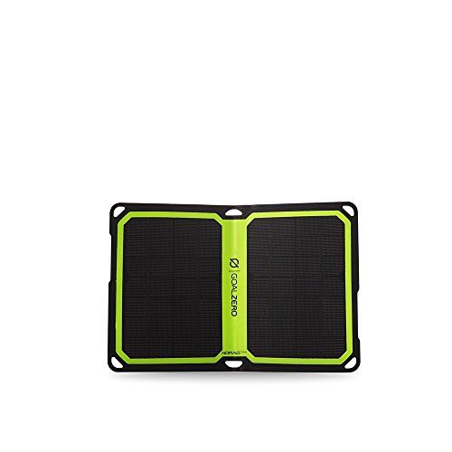 Goal Zero Nomad 7 Plus Solar Panel Recharger, Nomad 7 Plus, Monocrystalline (Best Flip Phone On The Market 2017)