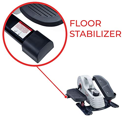 Sunny Health & Fitness Fully Assembled Magnetic Under Desk Elliptical – SF-E3872 by Sunny Health & Fitness (Image #10)
