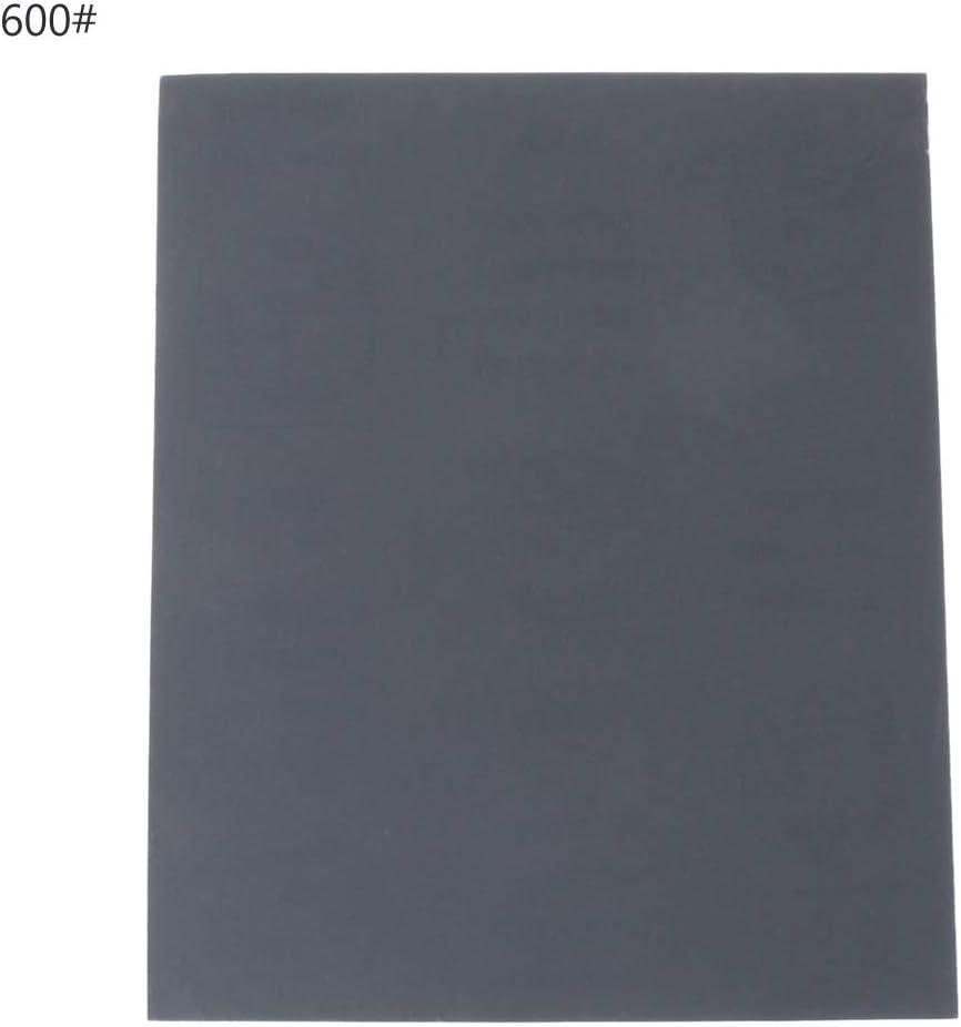 BIlinli 100//240//400//600//1000//2000 Grit Aluminium Oxide Wet /& Dry Abrasive Sanding Paper