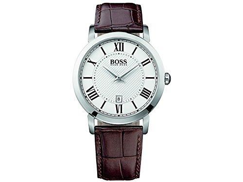 Hugo Boss Herren-Armbanduhr Analog Quarz Leder 1513136
