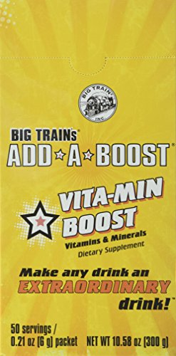 Big Train Add-a-Boost Vitamin Dietary Supplement, 0.21 Ounce Pack of 300