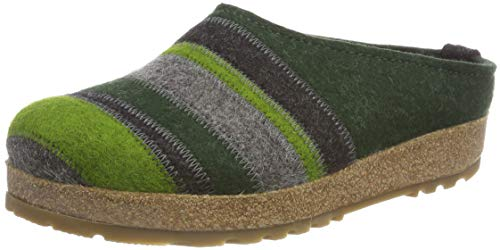 63 Mules Haflinger Vert Chaussons Eibe Homme Stripes Grizzly CxOPqF