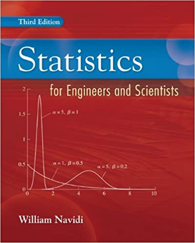 Statistics for Engineers and Scientists 3rd Edition by William Navidi  PDF Download