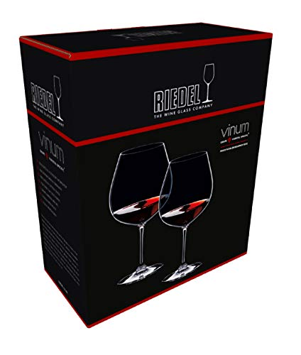 Riedel Vinum Pinot Noir (Burgundy Red) Glasses, Set of 2 by Riedel (Image #4)