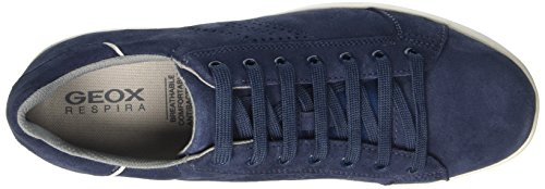Geox U Warrens B, Men's Low-Top Sneakers Blue (Lt Navyc4343)