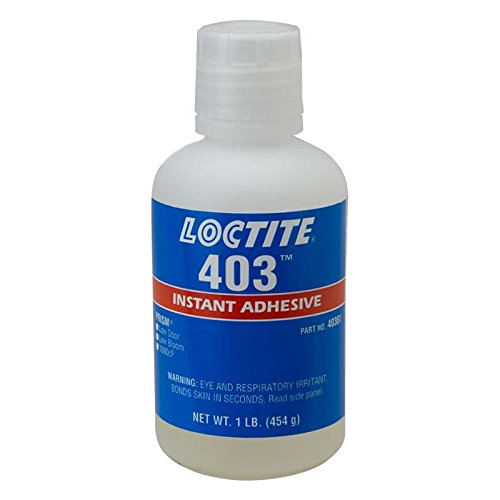 403 Prism Low Odor Instant Adhesive, Clear, 1 lb Bottle