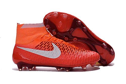 demonry Schuhe Herren Magista obra fg mit ACC Fußball Stiefel, Rot