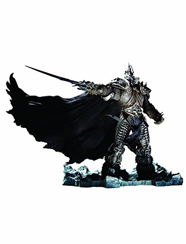 QIroseonly Unlimited World of Warcraft Deluxe Collector Figure: The Lich King: Arthas Menethil