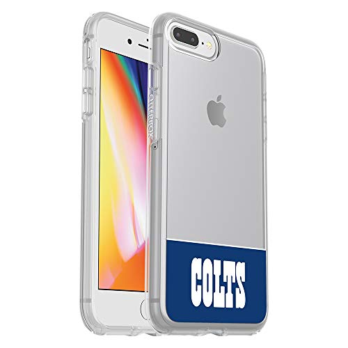 OtterBox NFL SYMMETRY SERIES Case for iPhone 8 Plus & 7 Plus (ONLY) - Retail Packaging - COLTS
