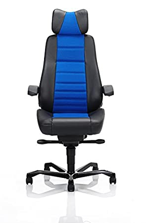 kab 24 7 controller chair in black leather a choice xtreme fabric