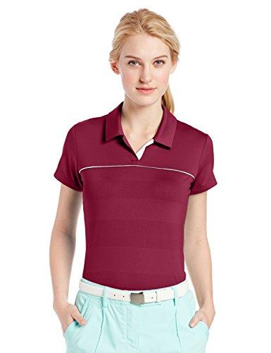 adidas Golf Women's Puremotion Print 3 Stripe Polo