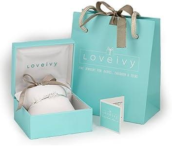 Silver Flower 5 1//4, 6 1//4 in Heart /& Butterfly Charm Bracelet For Girls
