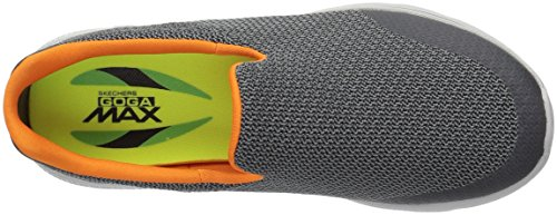 Skechers Performance Herren Go Walk 4 Expert Wanderschuh Holzkohle / Orange