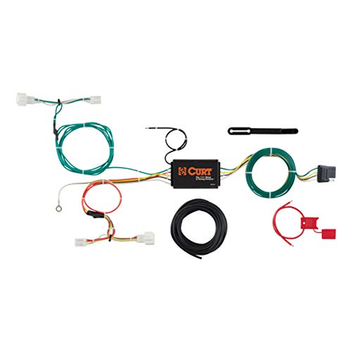 (CURT 56284 Vehicle-Side Custom 4-Pin Trailer Wiring Harness for Select Honda HRV)