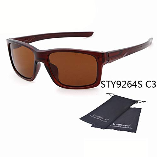 Amazon.com: Hot Square Sunglasses Men Sports Outdoor Eyewear ...