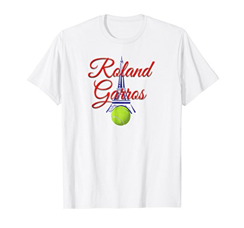 - Roland Garros T-Shirt for fans of French Teennis