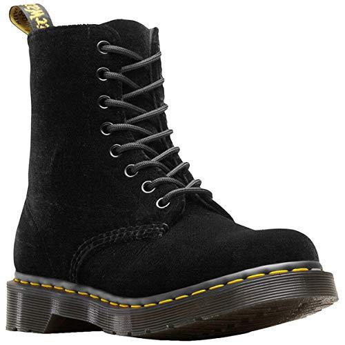 Dr.Martens Womens 1460 Pascal Velvet Velvet Black Boots 8 US