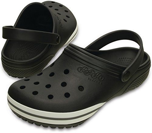 Crocs Jibbitz kilby Clog Black Relaxed Fit Unisex Mens 8/Womens 10 by Crocs (Image #2)