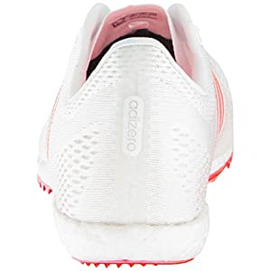 adidas Originals Adizero Avanti Track Shoe, White/Infrared/Metallic/Silver, 11 M US