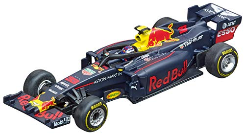 Carrera 64144 Red Bull Racing RB14 M. Verstappen #33 GO!!! Analog Slot Car Racing Vehicle 1:43 Scale (Go Carrera)