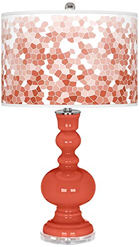 Koi Mosaic Giclee Apothecary Table Lamp by Color Plus - Color + Plus