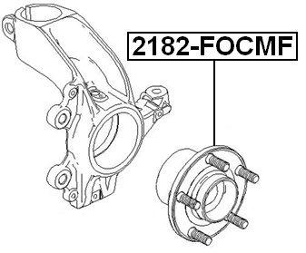 Buy febest 1223640 front wheel hub for ford febest