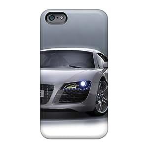 Scratch Resistant Hard Cell-phone Case For Apple Iphone 6 Plus With Unique Design Vivid Audi R8 Pattern JacquieWasylnuk