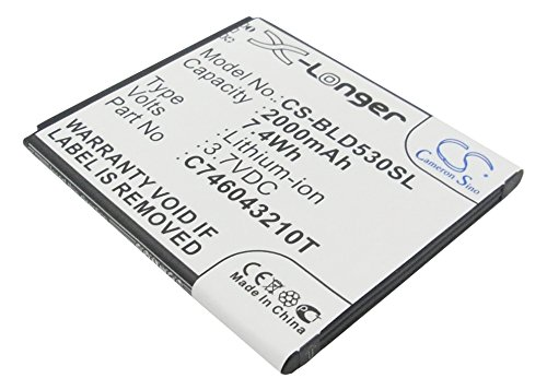 Cameron Sino 2000mAh/7.40Wh Replacement Battery for BLU Studio C 5+5, Studio 5.0,C706045200P